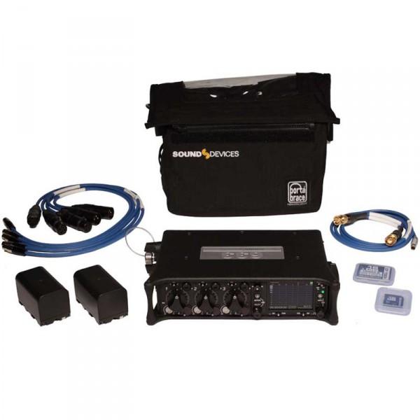 Sound Devices 633 Kit 633 mit Tasche, Kabel, Akku und Speicherkarten - 0