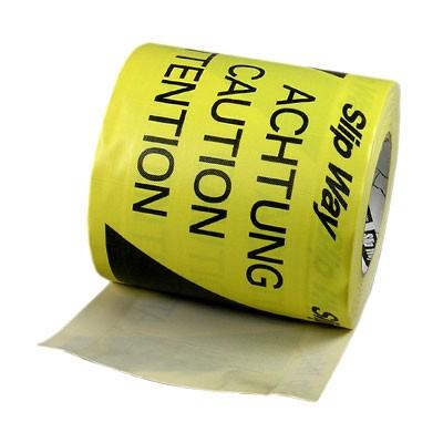 Tunnelband schwarz/gelb 145mm/33m - 0