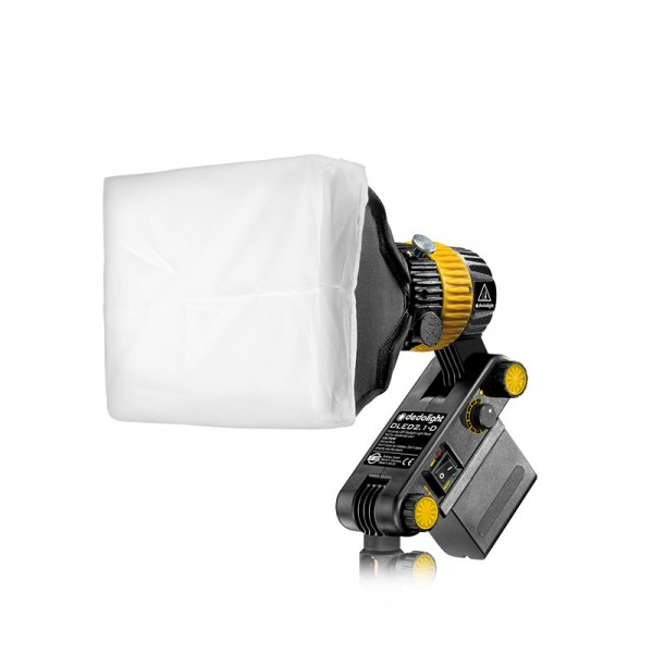 dedolight DLED2-SBX, Soft box for DLED2 LED light heads - 0