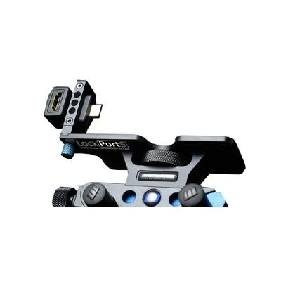 LockPort 5M3 Universal Front + Rear Kit, HDMI Port Saver für Canon EOS 5D Mark 3 - 0