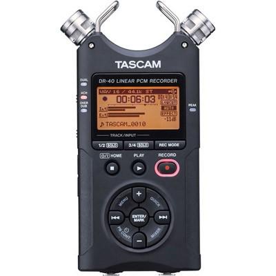 Tascam DR-40, Portabler 4 Spur Digitalrecorder - 0