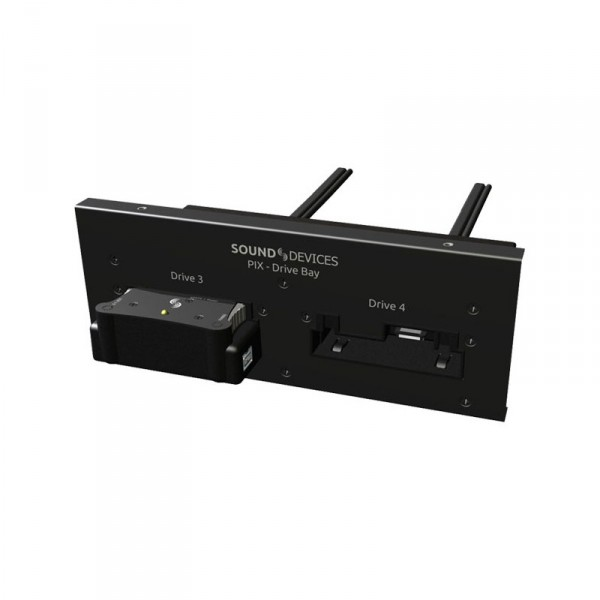 Video Devices PIX-DRIVE BAY Rack-mount dual PIX-CADDY drive bay for the PIX 270i - 0