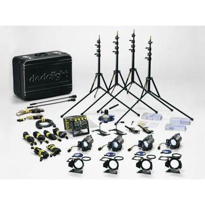 dedolight K12M Master100W Tungsten Kit DT12-4 - 0