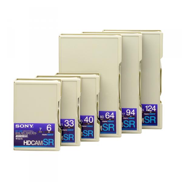 """Sony BCT40SR3 1/2"""" Digital HD-Cam SR Cassette - 0"""