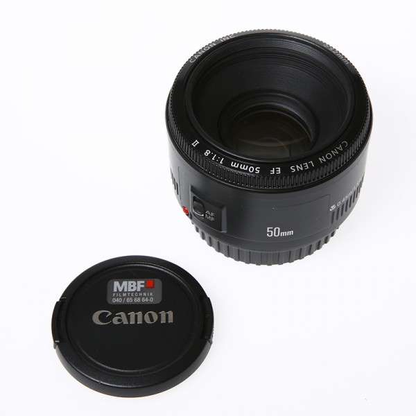 Canon 50 mm EF Optik f1,8, used