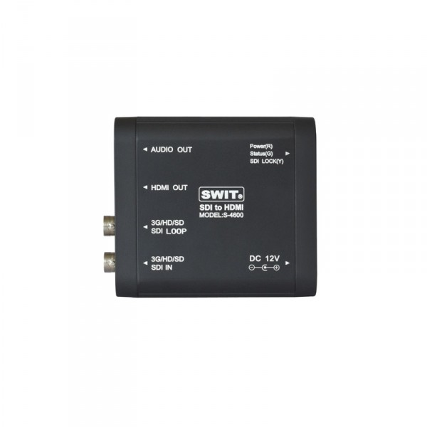 Swit S-4600 Heavy Duty 3G-SDI to HDMI Konverter - 0
