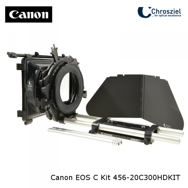Chrosziel 456-20C300HDKIT Kit für Canon EOS C100, C300, C500  für Objektive - 0