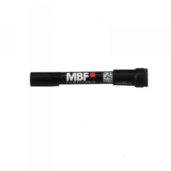 MBF Klappenstift schwarz, trocken abwischbar, KleenSlate Kappe
