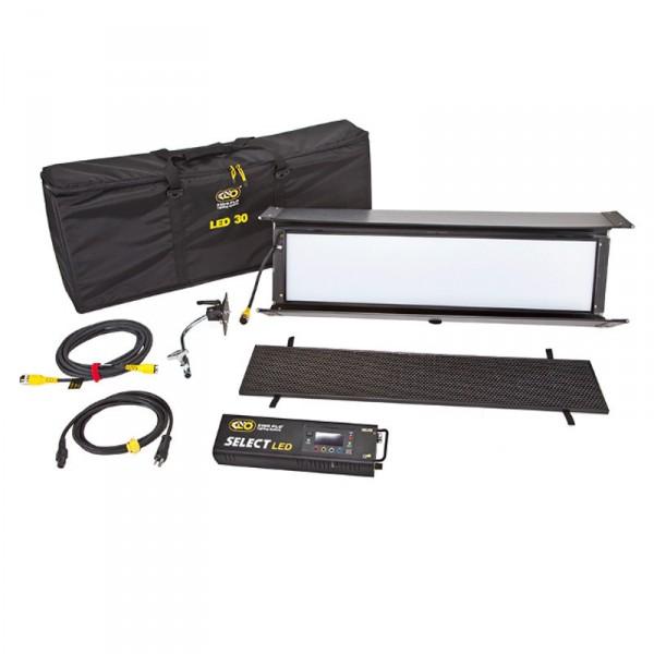 KinoFlo Select 30 DMX Kit, Univ 230U w/ Soft Case KIT-S30B-230U - 0