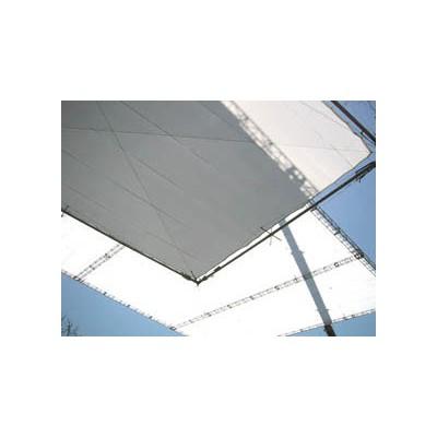 Rag Place Bespannung 08' x 08' (2.43m x 2.43m) Grid Cloth Half, White, silent, Tasche RP0808GCSH - 0