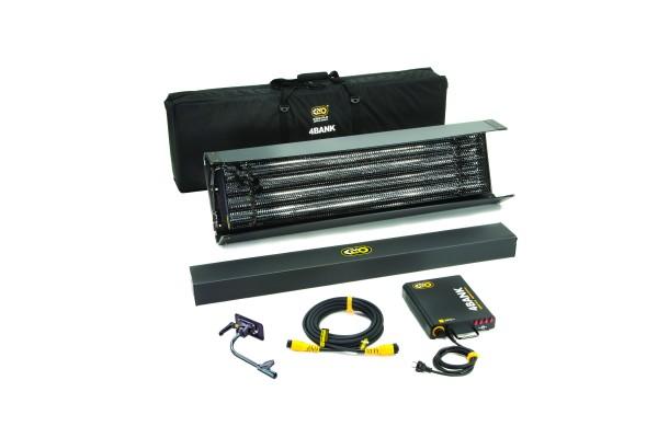 Kino Flo KIT-484B-230U, 4ft 4Bank Kit (1-Unit), Univ 230U w/ Soft Case