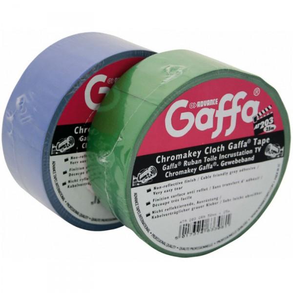 Chromakey Gaffa Tape Blau AT203 B:50mm L:25m - 0