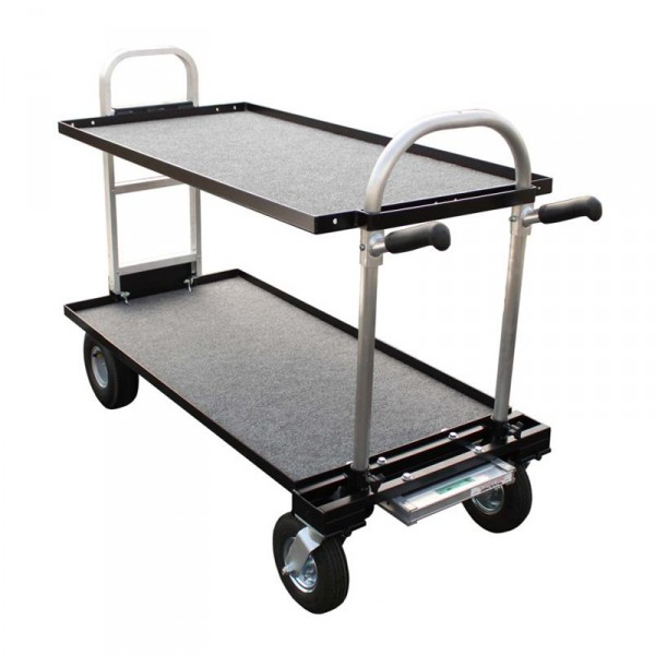 """Magliner Senior (Modified with 30"""" HD Nose, 8"""" Wheel Conv. Kit (Standard), 24"""" Top Shelf, 24"""" Botto - 0"""
