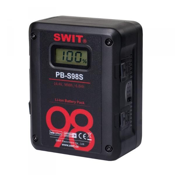 SWIT PB-S98S, 98Wh Cine-Style Battery, V-Mount