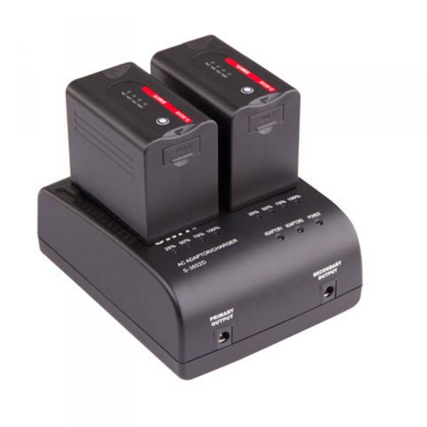 SWIT S-3602D, Dual Charger, Panasonic CGA
