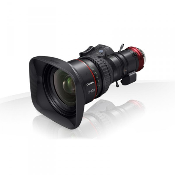 Canon CN7x17 KAS S / E1, EF Mount Cine-Servo Zoom Lens for Super 35mm Format - 0