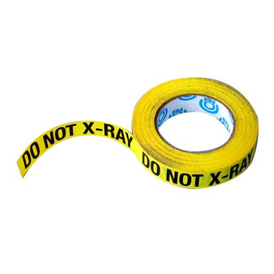 """DO NOT X-RAY Tape 1""""x50Yds - 0"""