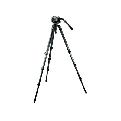 Manfrotto 504HD,536K Set: 504HD Neiger, 536 Stativ, MBAG100PN - 0