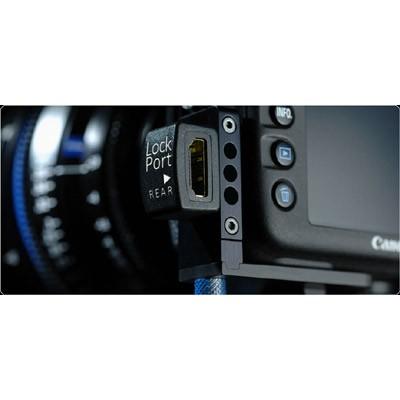 LockPort 5M3 Universal Rear Kit, HDMI Port Saver für Canon EOS 5D Mark 3 - 0