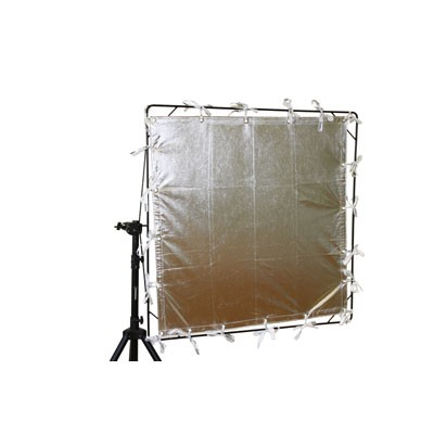 Roscotex 6'x6' 1,74m x1,74m Reflector Lame Silver - 0