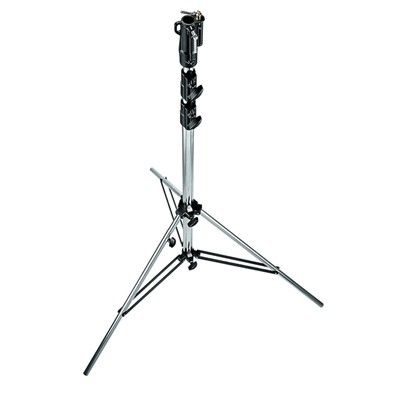 Manfrotto 007CSU STATIV SENIOR CHROM SILBER - 0