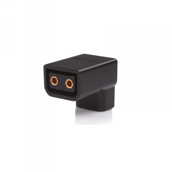 Swit S-7105 90° D-tap Male to Female Connector - 0