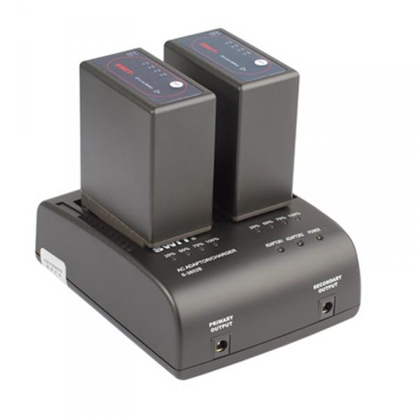 Swit S-3602B Doppelladegerät für Panasonic VBG Mount Akkus - 0