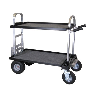 """Magliner  Junior (Modified with 30"""" HD Nose, 8"""" Wheel Conv. Kit (Narrow), 18"""" Top Shelf, 18"""" Bottom  - 0"""