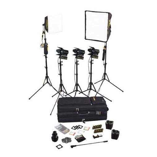 dedolight SPS5, 5-Light kit with soft case - 0