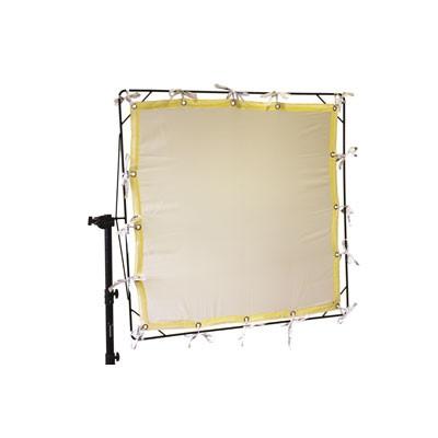 Roscotex 6'x6' 1,74m x1,74m Artificial Silk 1/4 White - 0