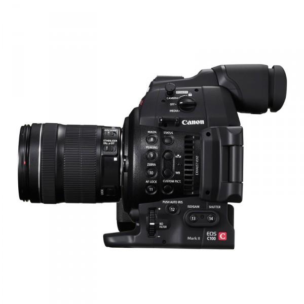 Canon C100 Mark  II+ 24-105 0298C003AA - 0