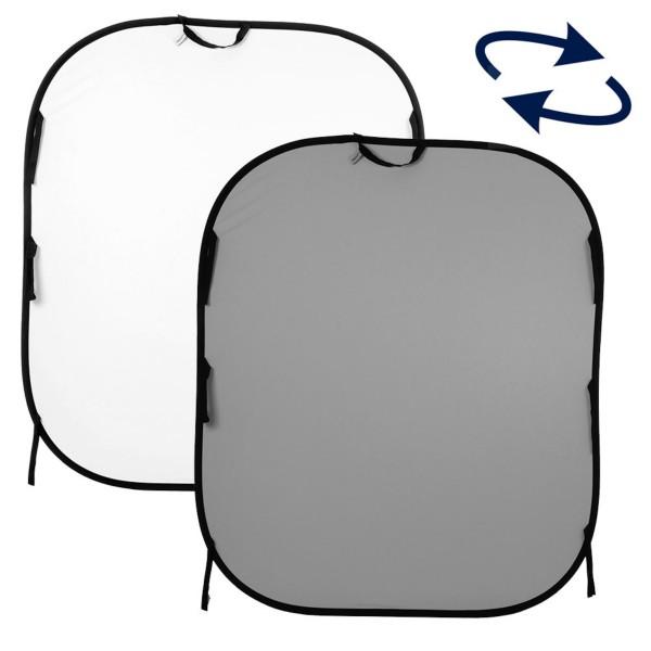 Lastolite LL LB56GW Falthintergrund Doppelseitig Weiß/Grau 150x180cm