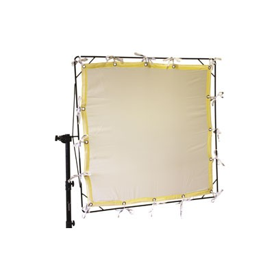 Roscotex 12'x20' 3,55mx5,90m  Artificial Silk 1/4 White - 0
