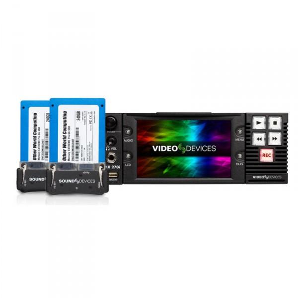 Video Devices PIX 270i Complete Pix 270i mit 2 x PIX-CADDY2, 2 x PIX-SSD6 240GB - 0