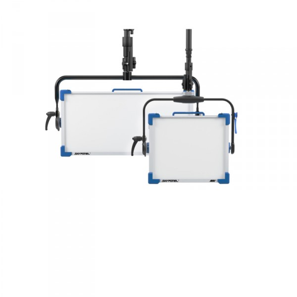 ARRI Skypanel S30-C, Manuell, Blau/Silber, 3m DC Kabel, Schuko powerCON L0.0007712 - 0