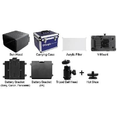 TV Logic CC-056, Kunststoff Tragekoffer für VFM-056W/WP - 0