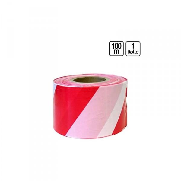 Absperrband Rot-Weiß 100mx80mm - 0