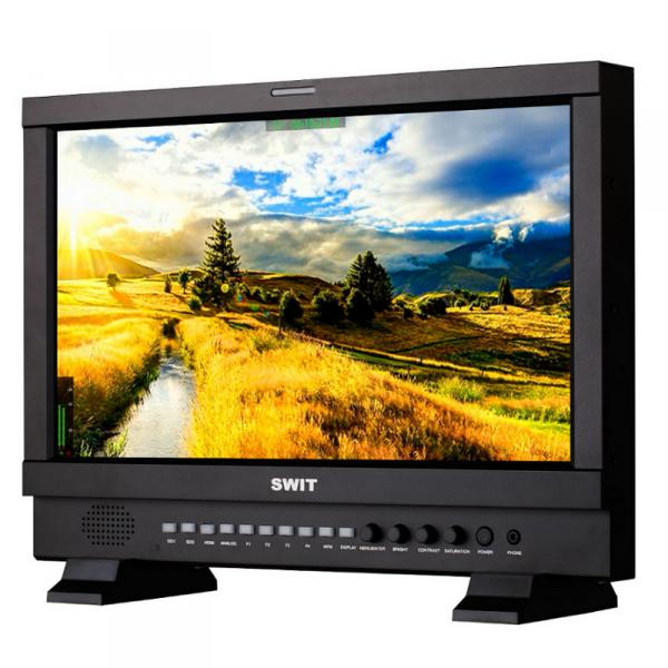 "SWIT S-1173HS, 17,3"" FHD 3GSDI/HDMI Studio LCD, V-Mount"