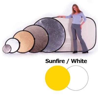Lastolite LL LR3806 Rundreflektor Sunfire/Weiß 95cm - 0