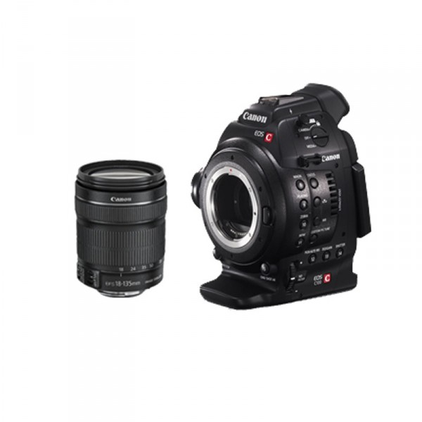Canon C100 DAF / EF 18-135 7428B013AA - 0