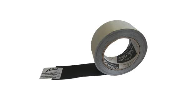 Blacktak (Black Wrap)  Alu-Tape selbstkebend schwarz, 50mm x 22,5m - 0