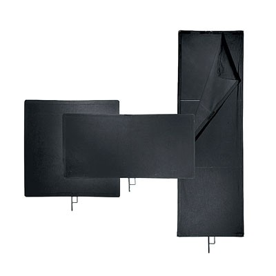 "Avenger I600B 12""X18"" SOLID BLACK FLAG - 0"