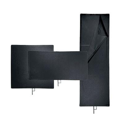 """Avenger I600B 12""""X18"""" SOLID BLACK FLAG - 0"""