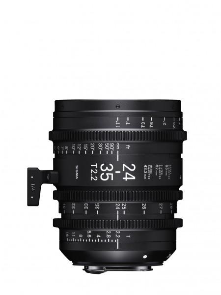 SIGMA 24-35MM T2.2 FF F/VE (METRIC) Sony-E
