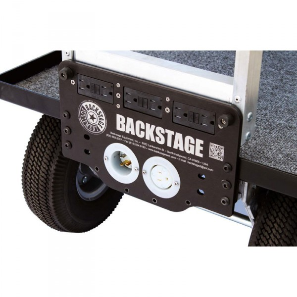 Magliner Mag A.C. Toe Plate with (6) Outlets (Ground Fault protection) MAG-X AC GFIC - 0