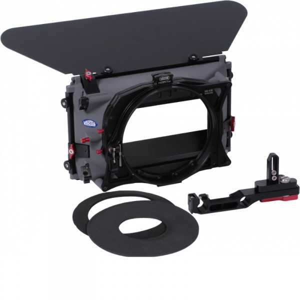 Vocas 0435-2010 MB-435 Matte box kit for any camera with 15mm rail support (incl. SA & Donut adapter - 0