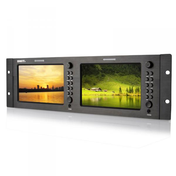 "SWIT M-1071H, 7"" Dual LCD Screen, HDMI, HDSDI"