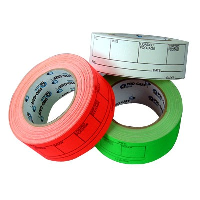 "Film Can Lable Tape (Mag-Tape) grün 2""x50YDS - 0"