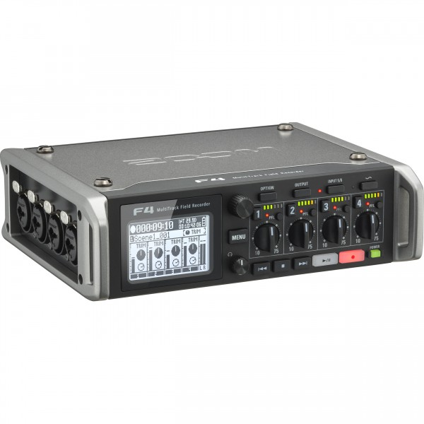 Zoom F4, Multitrack Field Recorder