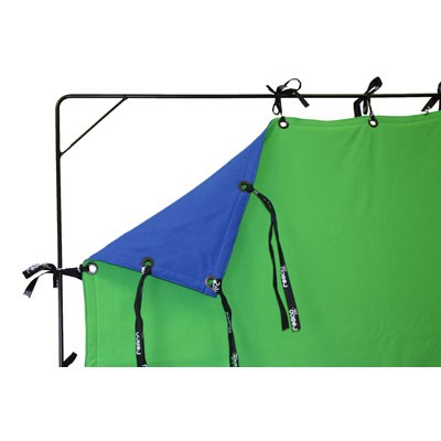 Roscotex 12'x20' 3,55mx5,90m  Chroma reversible Blue/Green - 0